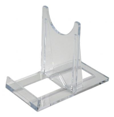SS1 Blu-ray / DVD Small Steelbook Clear Plastic Display Stands